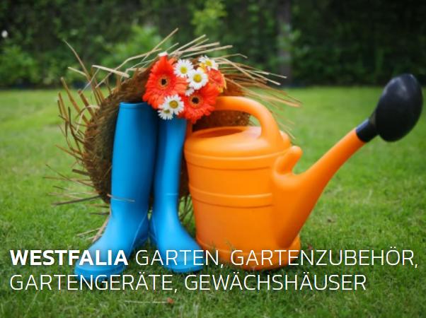 Westfalia - Garten - Gewächshäuser - Gerätehäuser